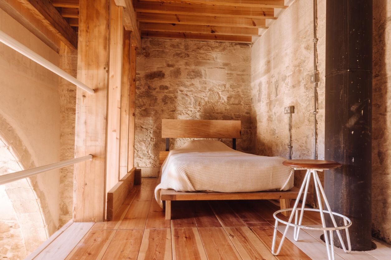 Zu Fuß ins Bett fallen - Übernachten beim Brückenbaron