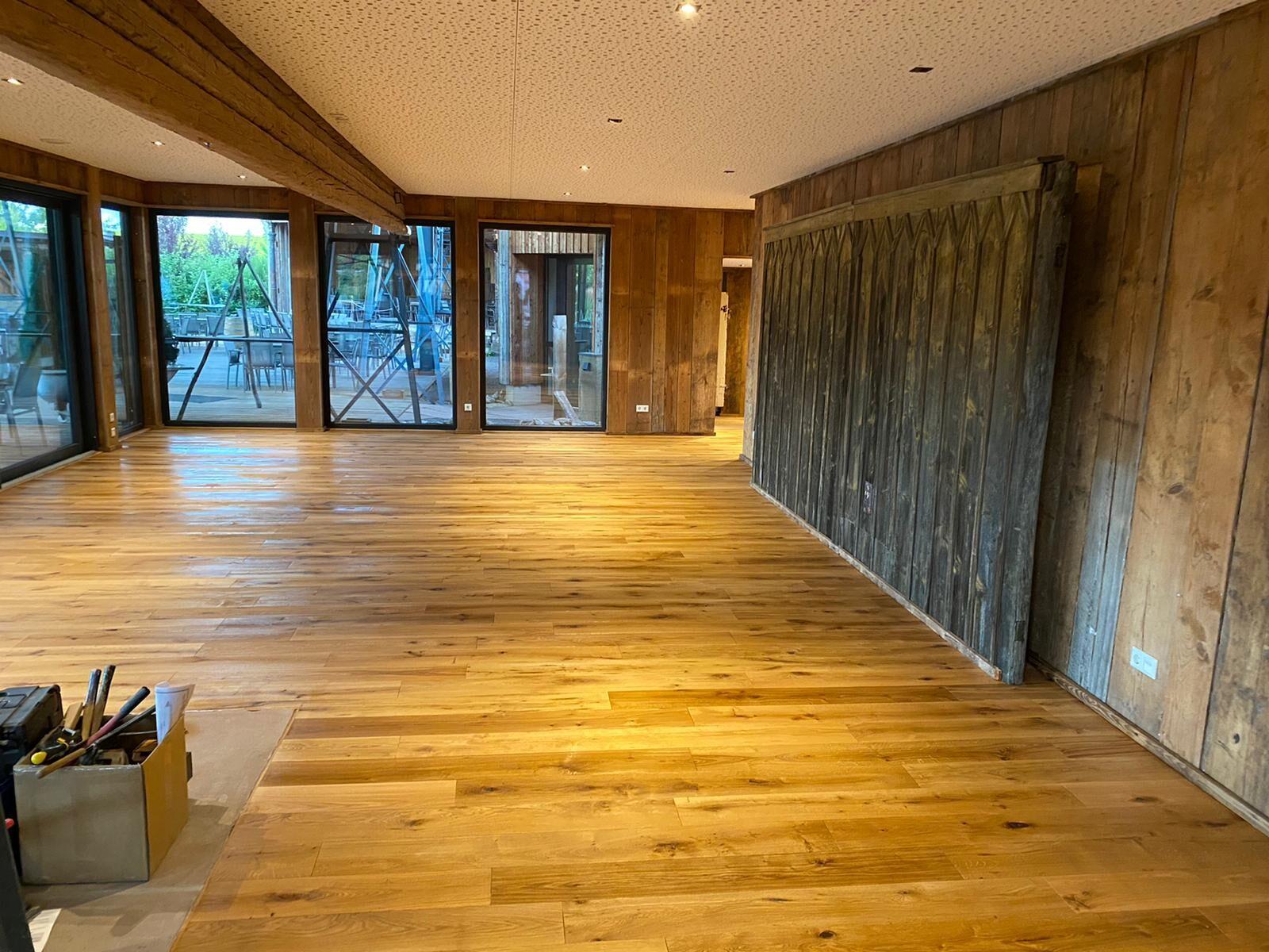 Die Bauarbeiten sind abgeschlossen - der Pavillon wurde eingeweiht